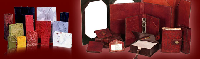 Handmade Bags and Leather Diaries