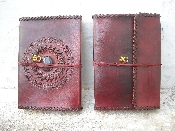 9X6 INCH    STONE WITH STITCHING JOURNALS